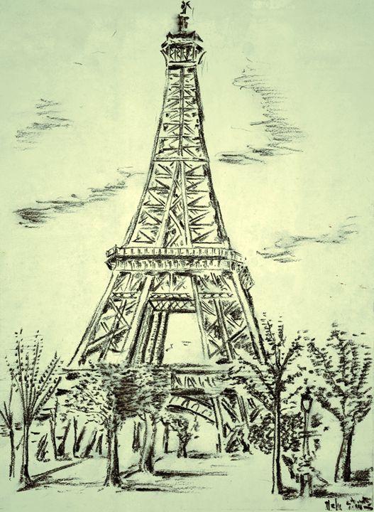 Eiffel Tower - Stuart's Art Gallery