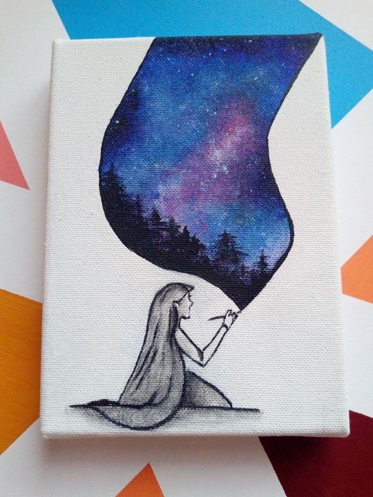 Painting girl - MellisaART