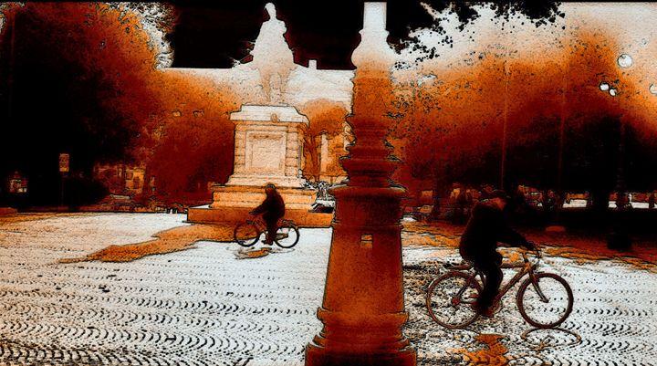 Andando in bicicletta - Gianantonio Marino Zago