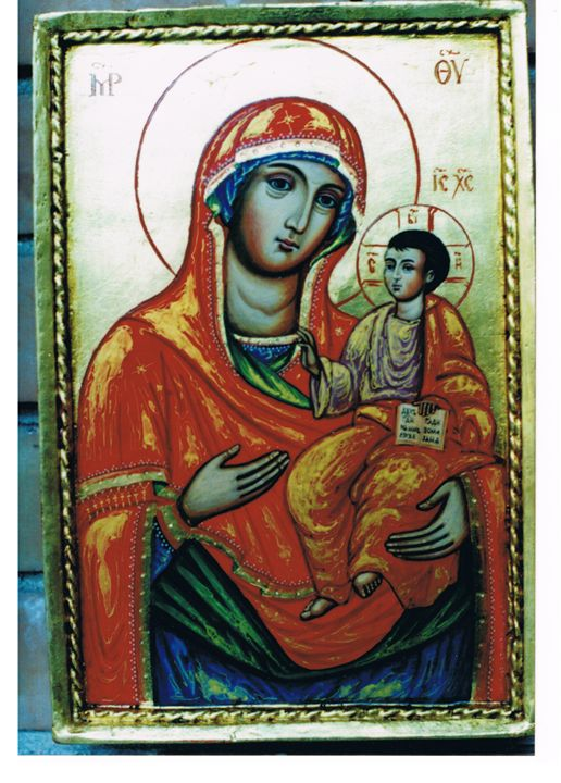 Godmother with Child - Orthodox icons