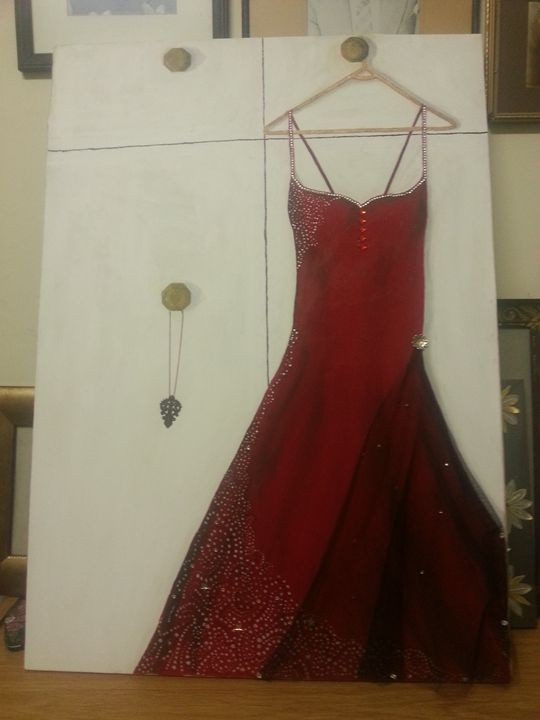 The red dress - ani's pieces