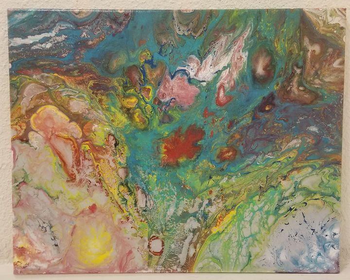 Fairy Pond - Lou's Happy Paintings