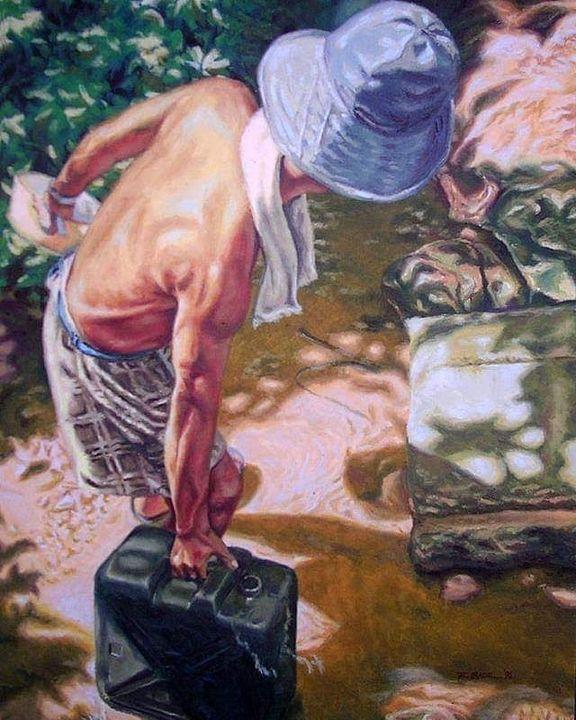 Aguador (water fetcher) - Maningpaolo