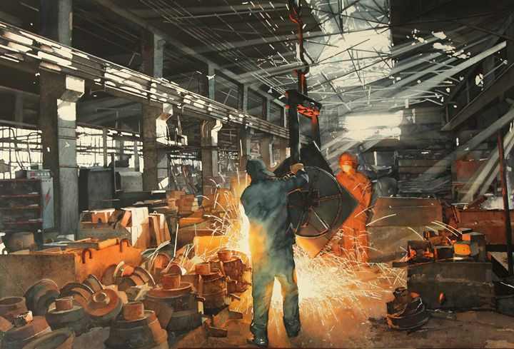 Rise of industry NO.3 - YY art