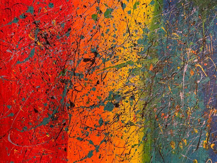 Speckled Rainbow - Rena's Art