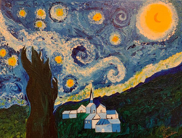 Starry Night - Rena's Art