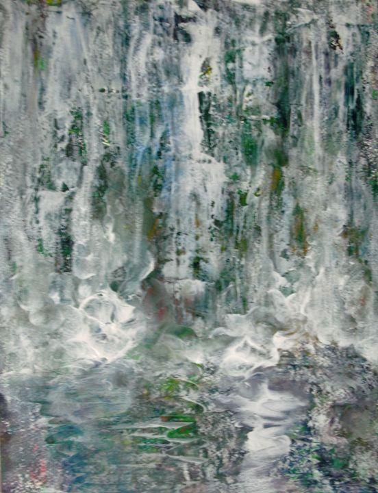 Waterfall - George Hunter Contemporary Artist