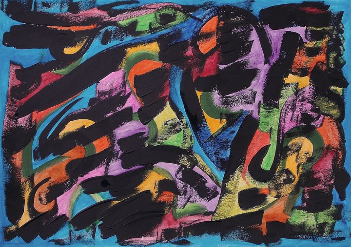 Depletion of Memories - George Hutton Hunter Contemporary Artist