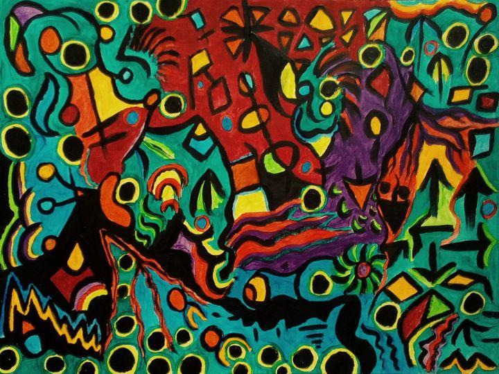 Stormy Sea - George Hutton Hunter Contemporary Artist