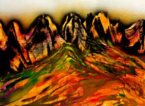 Shadowed Mountains