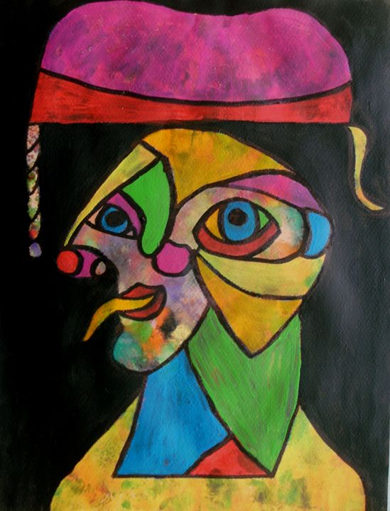 The Court Jester - George Hunter Contemporary Artist