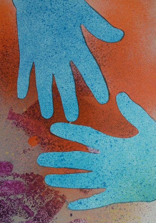 More of the Blue Hand Gang - George Hunter Contemporary Artist