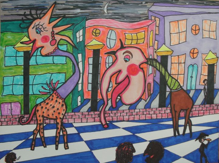 Drunken Desire - George Hunter Contemporary Artist