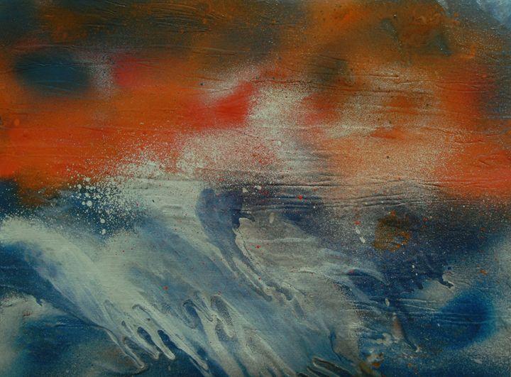 Ocean Storm - George Hunter Contemporary Artist