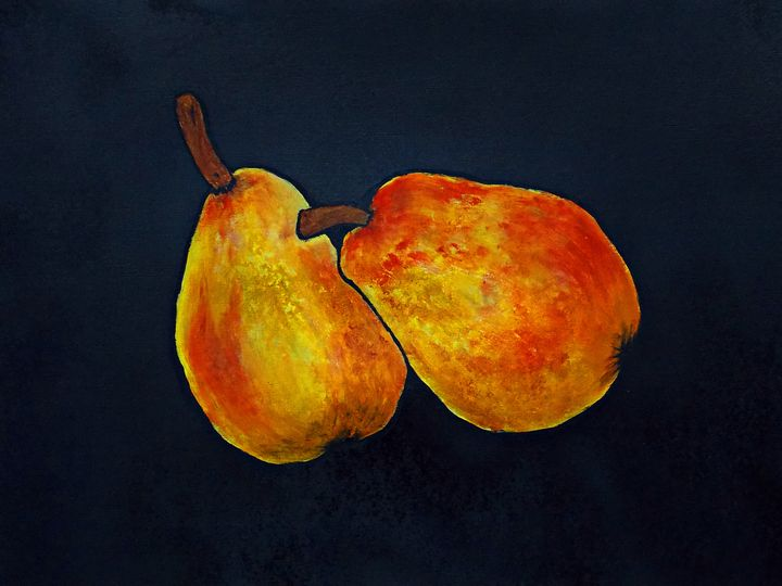 Pear Pair - George Hunter Contemporary Artist
