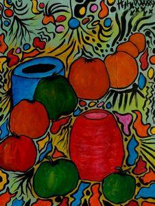 Vasi con frutta