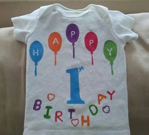 babies/kids birthday tshirt