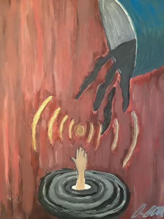 Reaching for hope - Allison Abbruscato