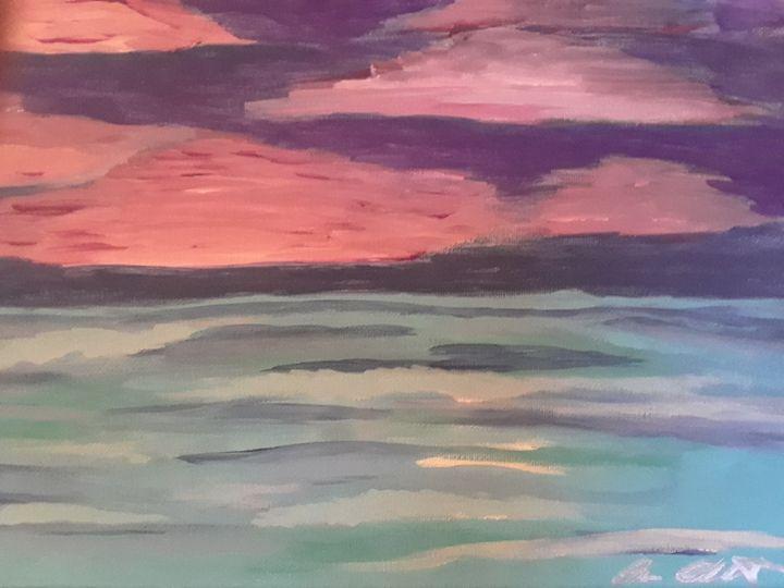 Sunset at sea - Allison Abbruscato