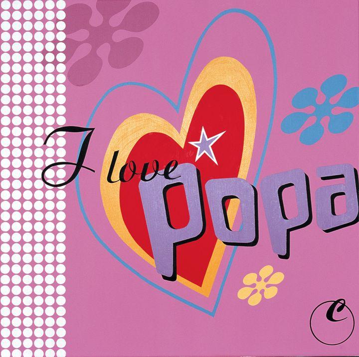 Love popart - Claus Spanner Elmholt
