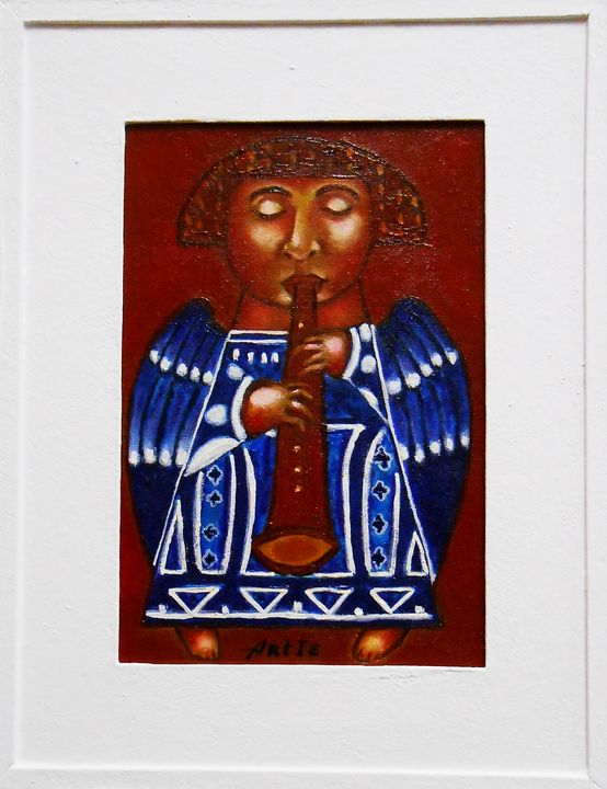 """""""Angel with flute"""" / SOLD - arthuris"""