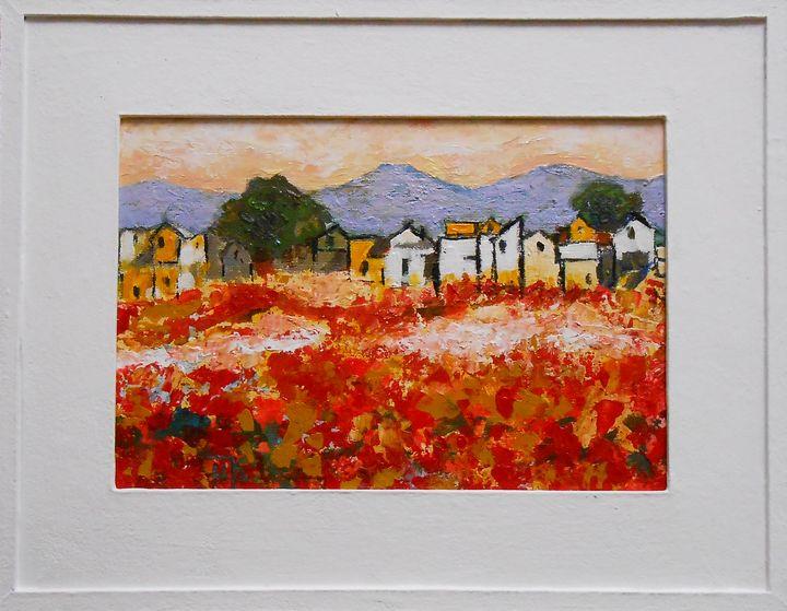 """Landscape"" Impressionisme / SOLD - arthuris"