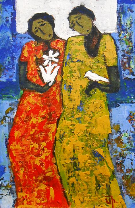 """Girlfriends II"" / SOLD - arthuris"