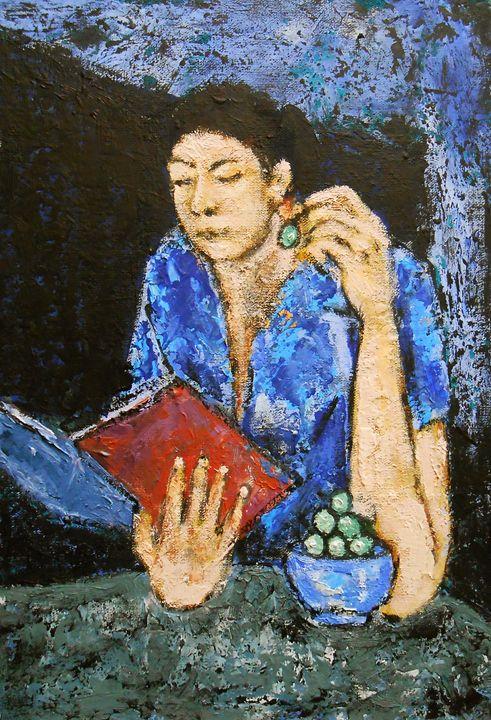 """""""The Reading Girl"""" - arthuris"""