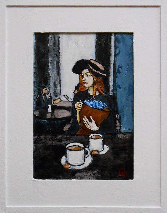 """In Cafe"" Impressionisme - arthuris"
