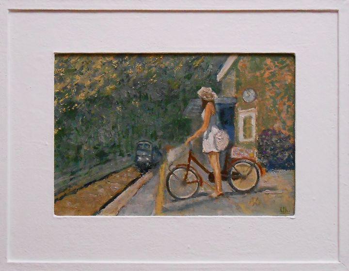 """Expectation"" Impressionisme / SOLD - arthuris"