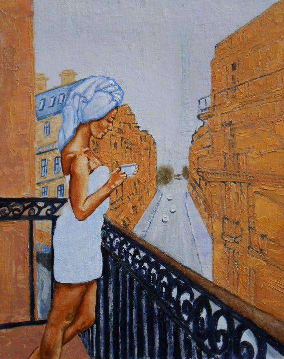 """""""Parisian balcony"""" - arthuris"""