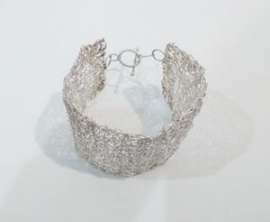 """""""Handmade silver bracelet"""""""