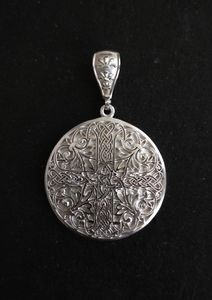 Handmade silver pendant / SOLD