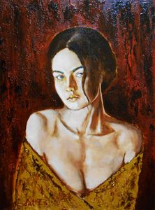 """Portrait XXXI"" / SOLD"