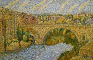 """Bridge over the river"" / SOLD"
