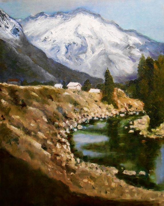 """Mountain landscape"" - arthuris"