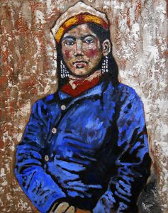 """Portrait of a woman from the East"""