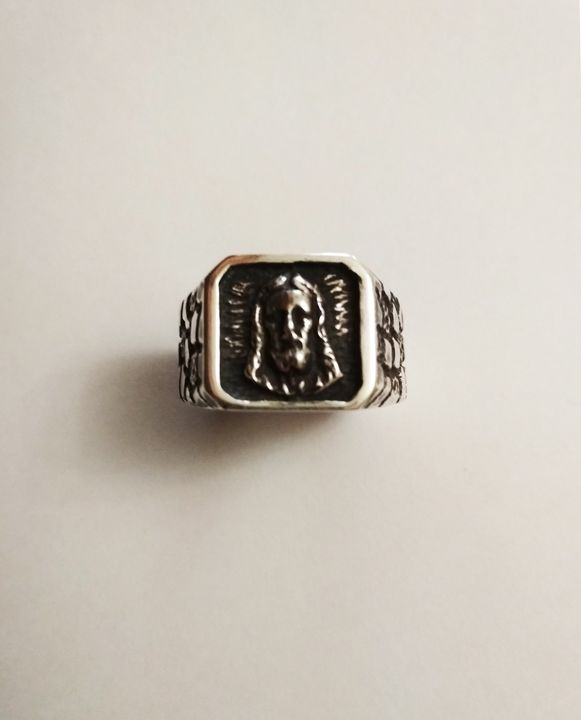 Signet ring with Jesus Christ - arthuris