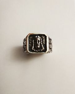 Signet ring with Jesus Christ