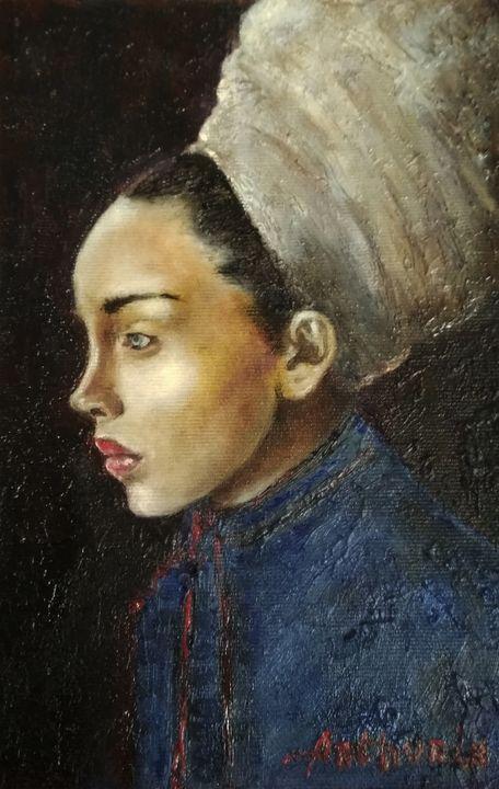 """""""Girl in turban"""" - arthuris"""