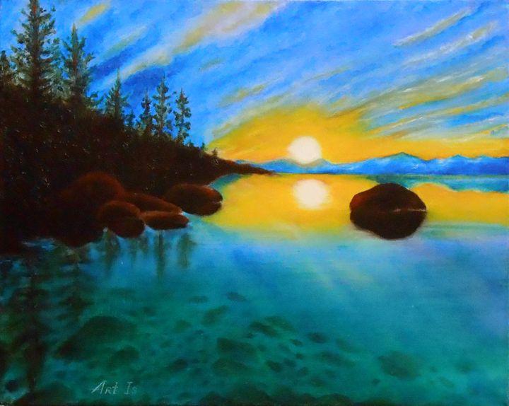"""Sunset. Blue"" - arthuris"