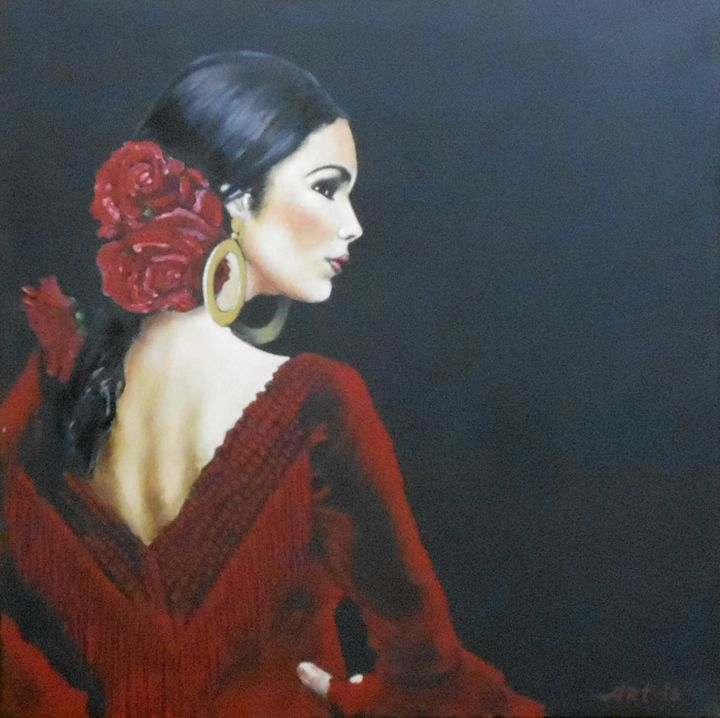 """FLAMENCO DANCER"" - arthuris"