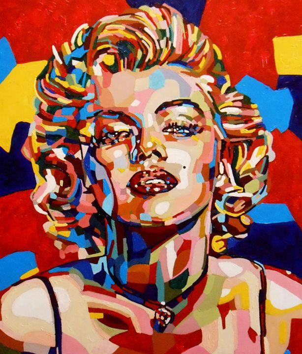 """""""Mosaic portrait. Marilyn 60x70"""" - arthuris"""