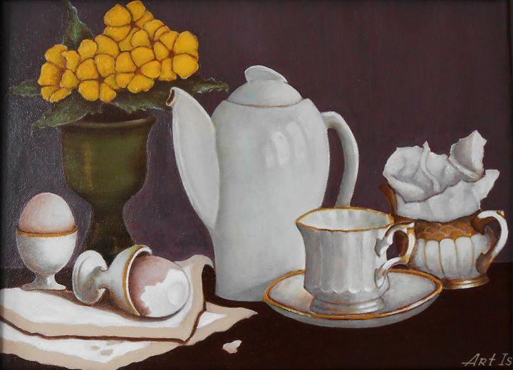 """""""Breakfast in a village house"""" - arthuris"""