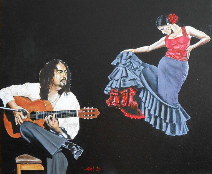 """""""FLAMENCO. GUITAR AND DANCE"""" - arthuris"""