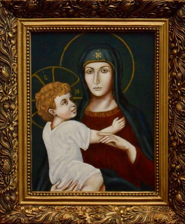 """MARIA AND CHILD"" - arthuris"