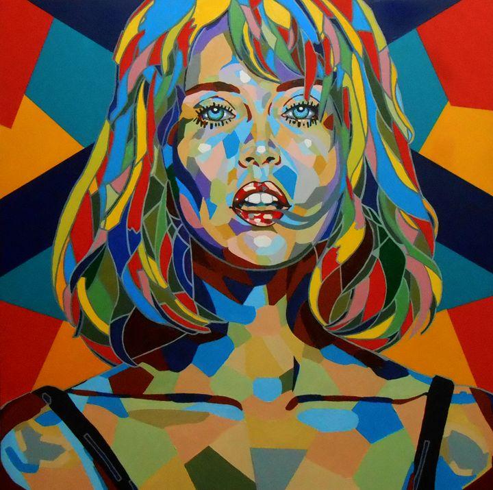 ''Mosaic portrait. Face IV'' - arthuris