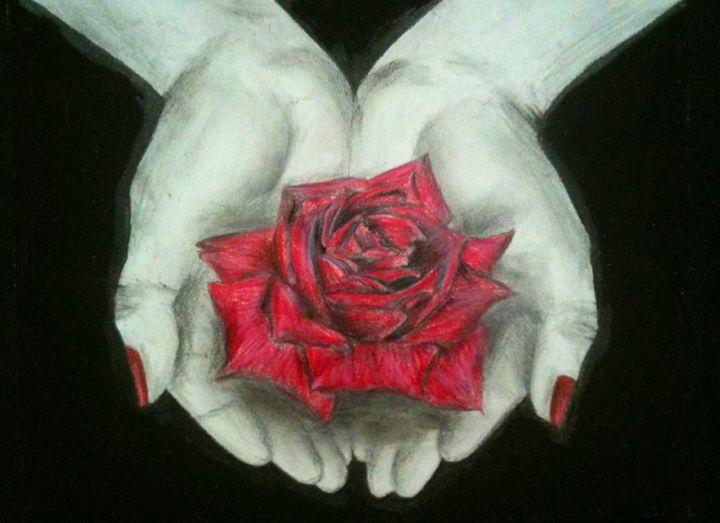 Rose in Hands - FaHa