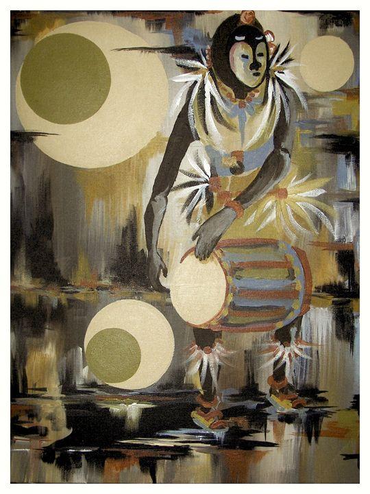 Nigerian Dancer-R - Rod Johnson