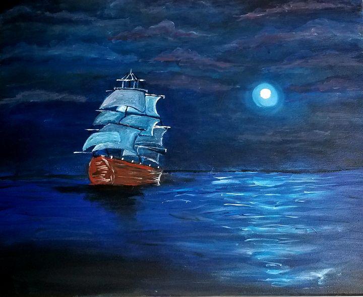 Sailing Boat - KN Creations